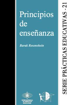 Principios de Enseñanza - serie prácticas educativas 21 - carátula.png