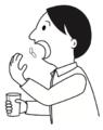 Hombre tragando pastillas.png