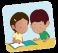 Niña y niño leen juntos - ExE lectura.png