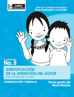 Identificación de la intención del autor - Tercer grado - carátula.png