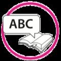 Icono ABC círculo rosado.png