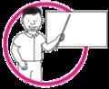 Icono pizarra círculo rosado.png